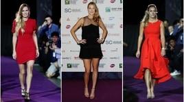Tennis, le stelle delle Wta Finals sfilano a Singapore