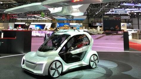Pop.Up Next, l'auto che vola di Italdesign, Audi e Airbus... atterra a Dubai