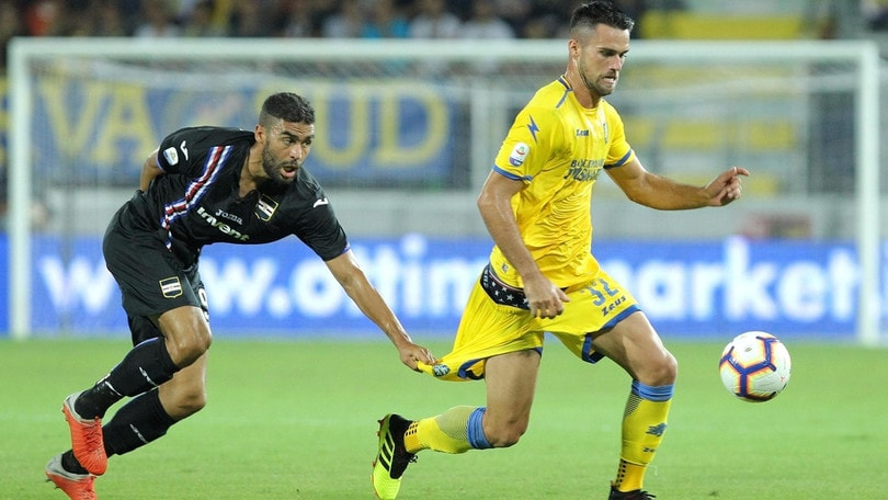 Serie A Frosinone, per Perica e Krajnc lavoro differenziato
