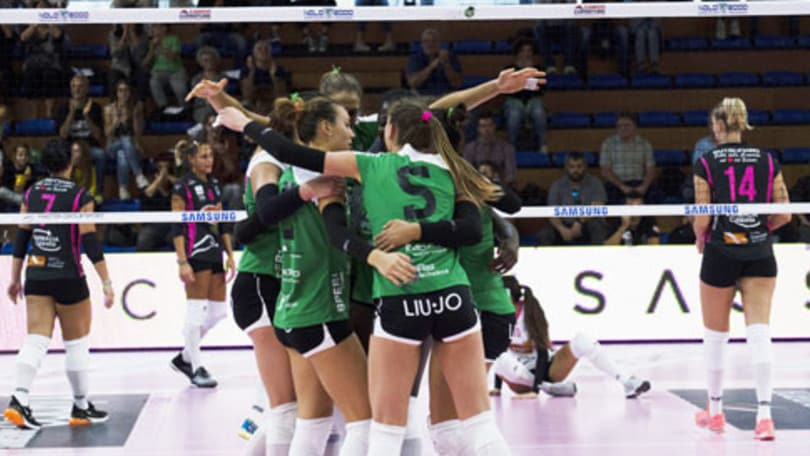 Volley: A2 Femminile, Soverato, Zambelli e Sassuolo già difendono il primato