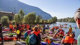 Canoa: in oltre 1300 per l'Adigemarathon