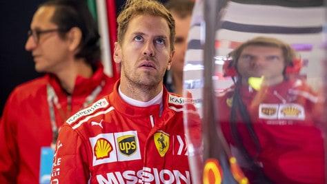 F1 Austin, Vettel penalizzato: «Non eravamo abbastanza veloci»