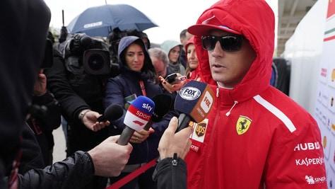 F1 Austin, Raikkonen: «Condizioni difficili, non è successo molto»