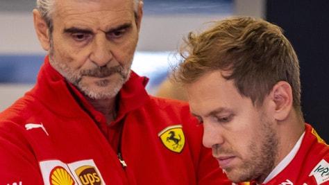F1 Austin, Arrivabene: «Critiche a Vettel non arrivano dalla Ferrari»