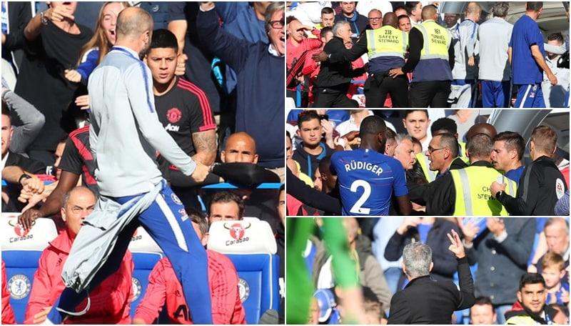 Dall'episodio del 2018 al derby: Sarri e Mourinho di nuovo faccia a faccia