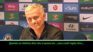 Mourinho spiega lo scontro, poi la battuta...
