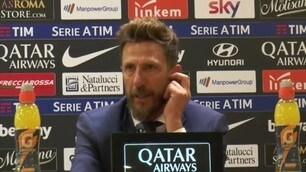 """Di Francesco: """"Nella ripresa non siamo stati una squadra"""""""