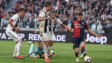Serie A Juventus-Genoa 1-1, il tabellino