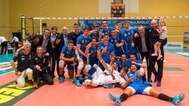 Volley: A2 Maschile, Girone Blu: il Club Italia batte Taviano al tie break