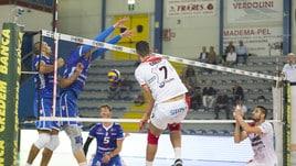 Volley: A2 Maschile, Girone Bianco: Potenza Picena espugna Santa Croce