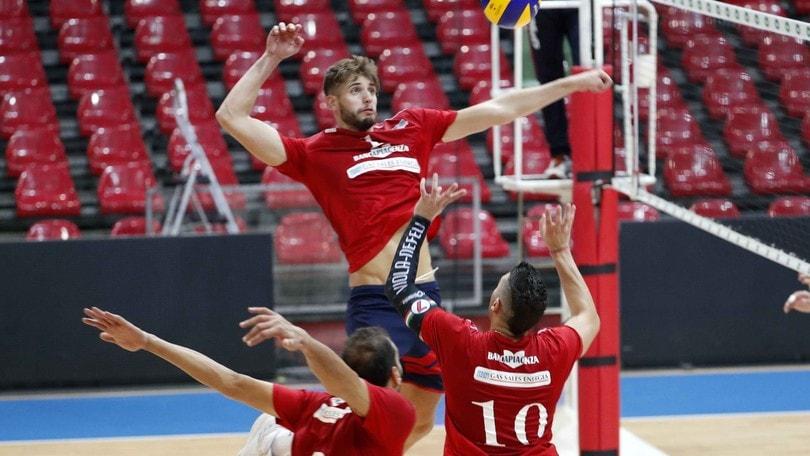 Volley: A2 Maschile, Girone Blu: Piacenza supera Catania con autorevolezza