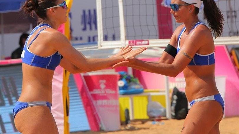 Beach Volley: a Las Vegas eliminate le coppie italiane