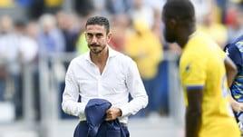 Serie A Frosinone, Longo: «C'è rammarico, ma la squadra è viva»