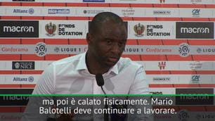 """Vieira: """"Balo, c'è da lavorare"""""""