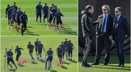Allegri torchia la Juventus alla vigilia della sfida allo United
