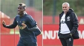 Arriva la Juventus di CR7: Mourinho e Pogba si preparano così...