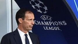 Juventus, Allegri: «Contro lo United servono lucidità e tecnica»