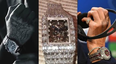 Sportivi e orologi di lusso: c'è chi spende più di Ronaldo
