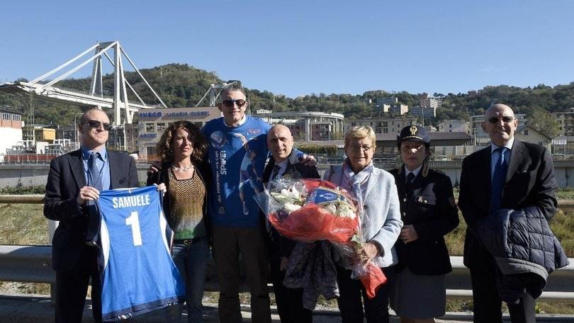 Volley: Gioca Volley S3 In Sicurezza, ha commemorato i caduti di Genova