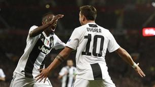 Manchester United-Juventus 0-1, Dybala espugna l'Old Trafford