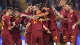 Champions League, Roma-Cska Mosca 3-0: che doppietta per Dzeko!