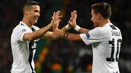 Da Dybala a Ronaldo, festa Juve: «Ben fatto!»