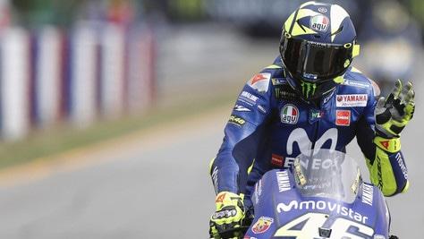 MotoGp, Rossi: «A quarant'anni ancora competitivo»