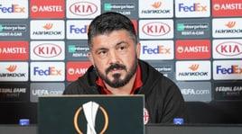 Gattuso: «Voci sul mio esonero? Chiacchiere da bar»