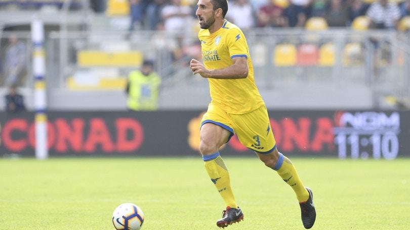 Serie A Frosinone, Molinaro e Maiello a parte per un risentimento muscolare