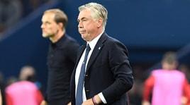 Napoli, Ancelotti: «Soddisfazione e rammarico, ma non ho nulla da rimproverare ai miei»