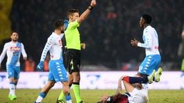 Serie A Napoli-Roma: dirige Massa. Lazio-Inter: Irrati