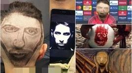 Si fa ritrarre Sergio Ramos in testa: il risultato disastroso scatena i social