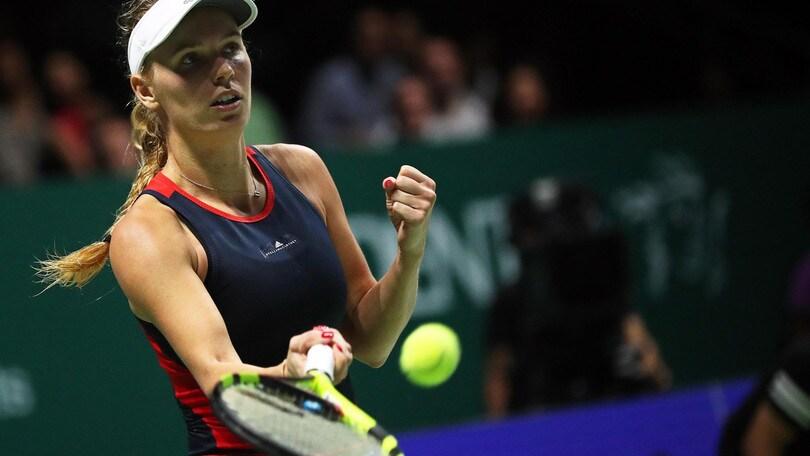 La tennista Caroline Wozniacki rivela: