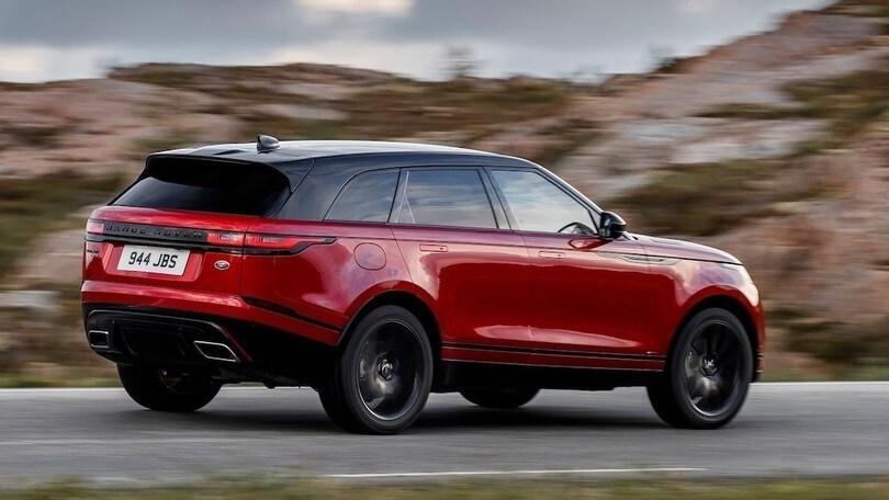 Range Rover Velar SVR, il motore è da 575 cv