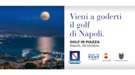 Golf in piazza, che show a Napoli!