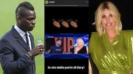 Blasi contro Corona, Balotelli si schiera:«Io sto con Ilary»