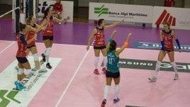 Volley: A2 Femminile, Girone A Mondovì supera 3-0 Olbia