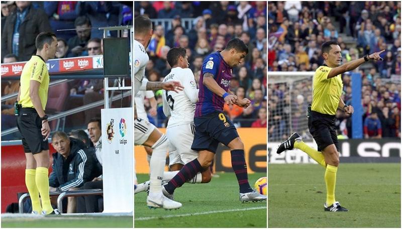 Barcellona-Real Madrid: la prima volta del Var nel 'clasico'