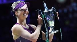 Tennis, Wta Finals: trionfa la Svitolina