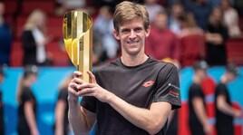 Tennis, Anderson re di Vienna