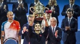 """Tennis, Federer vince nella """"sua"""" Basilea: è il 99° titolo Atp"""