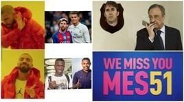 I meme del Clasico: Vinicius-Malcom, altro che Messi e Ronaldo!