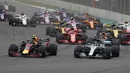 F1 Messico: vince Verstappen, Ferrari sul podio. Hamilton è campione