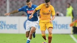Serie A Napoli-Roma 1-1, il tabellino