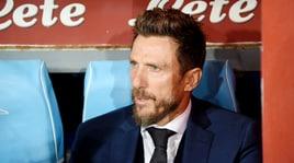 Di Francesco: «Gol al 90'? Dispiace ma il Napoli ha meritato»