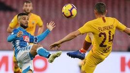 Serie A, il Napoli frena: lo scudetto sale a 7,00