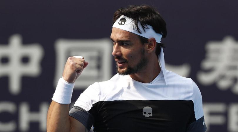 Atp Stoccolma Open, esordio positivo per Fognini: è ai quarti
