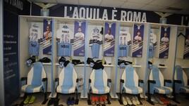 Lazio, contro l'Inter le foto dei tifosi sulla maglia