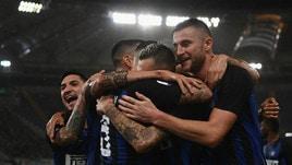 Serie A, l'Inter vola: lo scudetto scende a 14,00