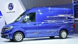 Volkswagen-Crafter, emissioni zero per lavorare